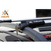 Багажник на рейлинги AGURI Prestige II PS12 для Renault Duster (2009-2014)