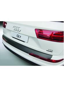 Накладка на задний бампер Audi Q7 (2015-)