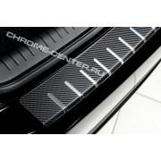 Накладка на задний бампер (carbon) VW JETTA 5 (2005-2010)