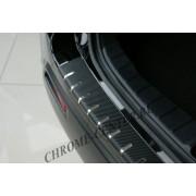 Накладка на задний бампер (carbon) VW Touran II (2010-)