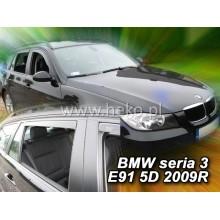 дефлекторы боковых окон для BMW e46