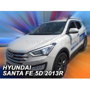 Дефлекторы боковых окон Heko для Hyundai Santa Fe III (2012-)