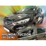 Дефлекторы боковых окон Heko для Hyundai Tucson (2015-)