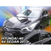 Дефлекторы боковых окон Heko для Hyundai i40 4D (2011-)