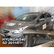Дефлекторы боковых окон Heko для Hyundai i40 Combi (2011-)