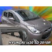 Дефлекторы боковых окон Heko для Hyundai ix20 5D (2010-)
