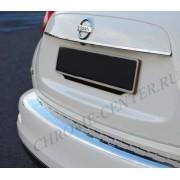 Накладка на задний бампер Nissan Juke (2010-2014)