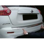 Накладка на бампер Nissan Juke