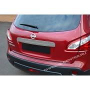 Накладка на крышку багажника Nissan Qashqai/+2 (2007-2013)