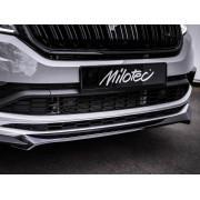 Накладка переднего бампера (Milotec, 973 04) Skoda Kodiaq RS/Sportline 2016-2021
