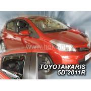Дефлекторы боковых окон Team Heko для Toyota Yaris III (2011-)