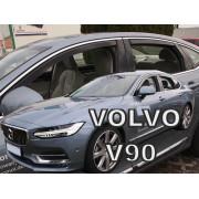 Дефлекторы боковых окон Heko для Volvo S90 (2016-)