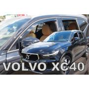 Дефлекторы боковых окон Heko для Volvo XC40 (2018-)