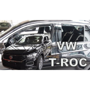 Дефлекторы боковых окон Heko для Volkswagen T-Roc (2018-)